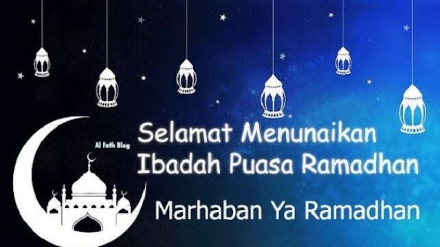 20 Ucapan Selamat Puasa Ramadhan 2020/1441 H untuk WA WhatsApp, Instagram dan Facebook