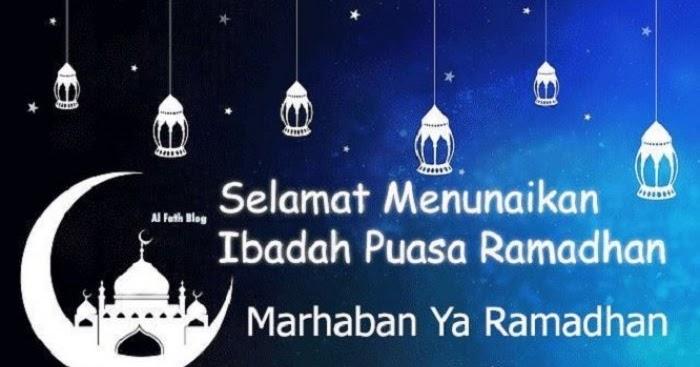 20 Ucapan Selamat Puasa Ramadhan 2020 1441 H Untuk Wa Whatsapp