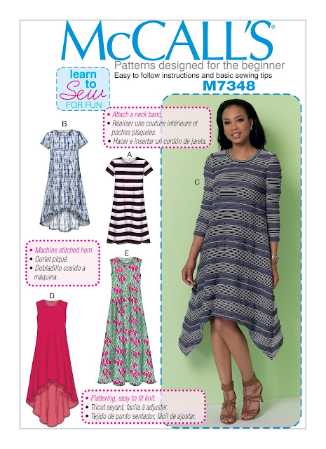 Diary Of A Sewing Fanatic Mccalls 7348 A T Shirt Dress Wearable