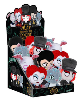 Alice Through the Looking Glass Mopeez Plush Series by Funko - Mad Hatter, Red Queen, Cheshire Cat, White Rabbit & Time