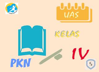 Latihan Soal UAS Genap PKN Kelas 4 K13 2019