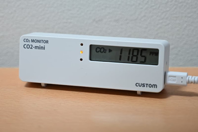 CUSTOM CO2 モニター