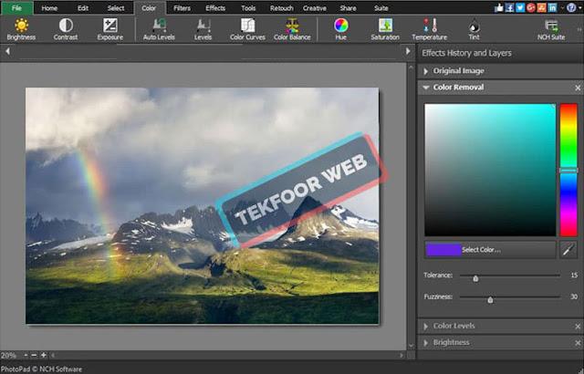 تحميل برنامج تعديل الصور وتجميلها مجانا للكمبيوتر – Photopad photo editor