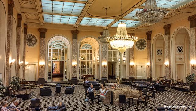 Lounge do Hotel Adelphi, Liverpool