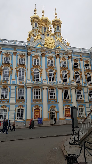 ST PETERSBURG, VISIT TO CATHERINE PALACE
