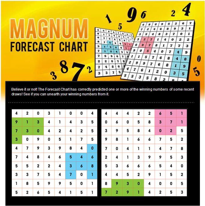 MAGNUM FORECAST CHART 2015