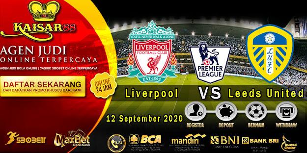 Prediksi Bola Terpercaya Liga Inggris Liverpool vs Leeds United 12 September 2020