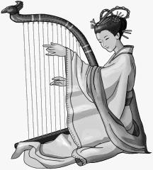 chinese harp