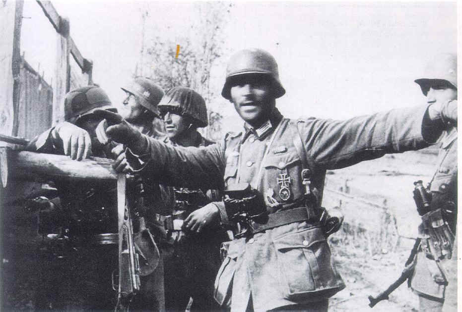Image result for ww2 german soldier with infantry assault badge