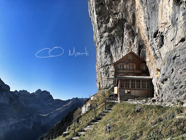 Superbe souvenir d'un repas en Appenzell ! Le Truube à Gais!