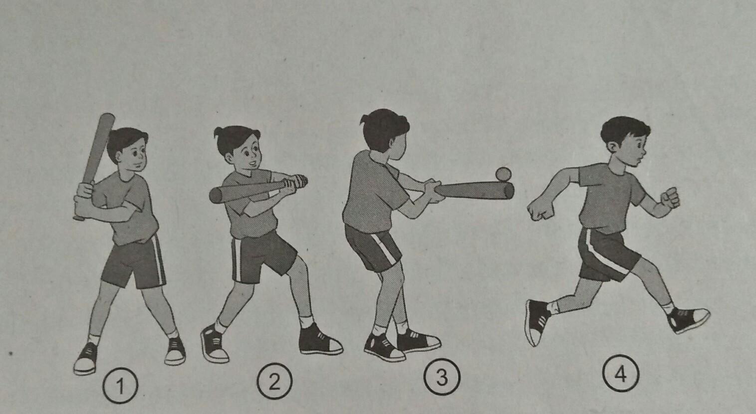 Kombinasi Gerak Dasar Lokomotor Nonlokomotor Dan Manipulatif Dalam Permainan Bola Kecil Penjaskes