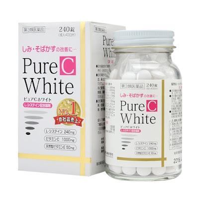 Tác dụng của viên uống pure white c Nhật Bản