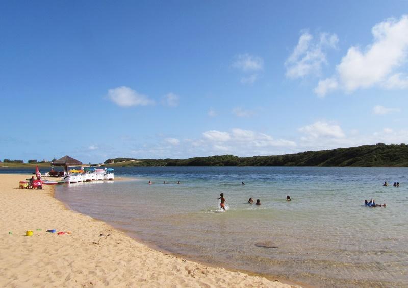 Litoral sul de Natal: Lagoa de Arituba, Praia de Cumurupim