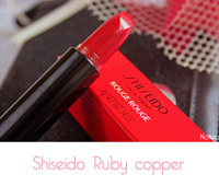 Shiseido Rouge Rouge Ruby copper