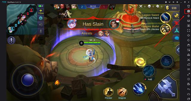 Cara Setting Keyboard Nox App Untuk Game Mobile Legends