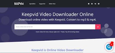 تنزيل فيديو من يوتيوب بدون برامج عبر موقع keevid