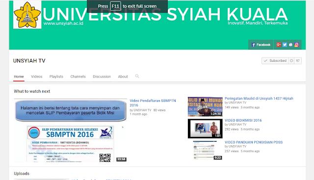 Screenshot 24 - Unsyiah Sebagai Jantung Hati Rakyat Aceh di Kota Pelajar dan Mahasiswa Darussalam