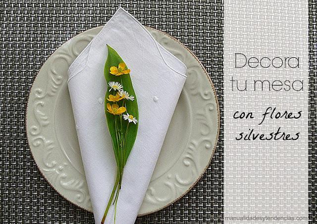 Decoración floral para mesa de fiesta
