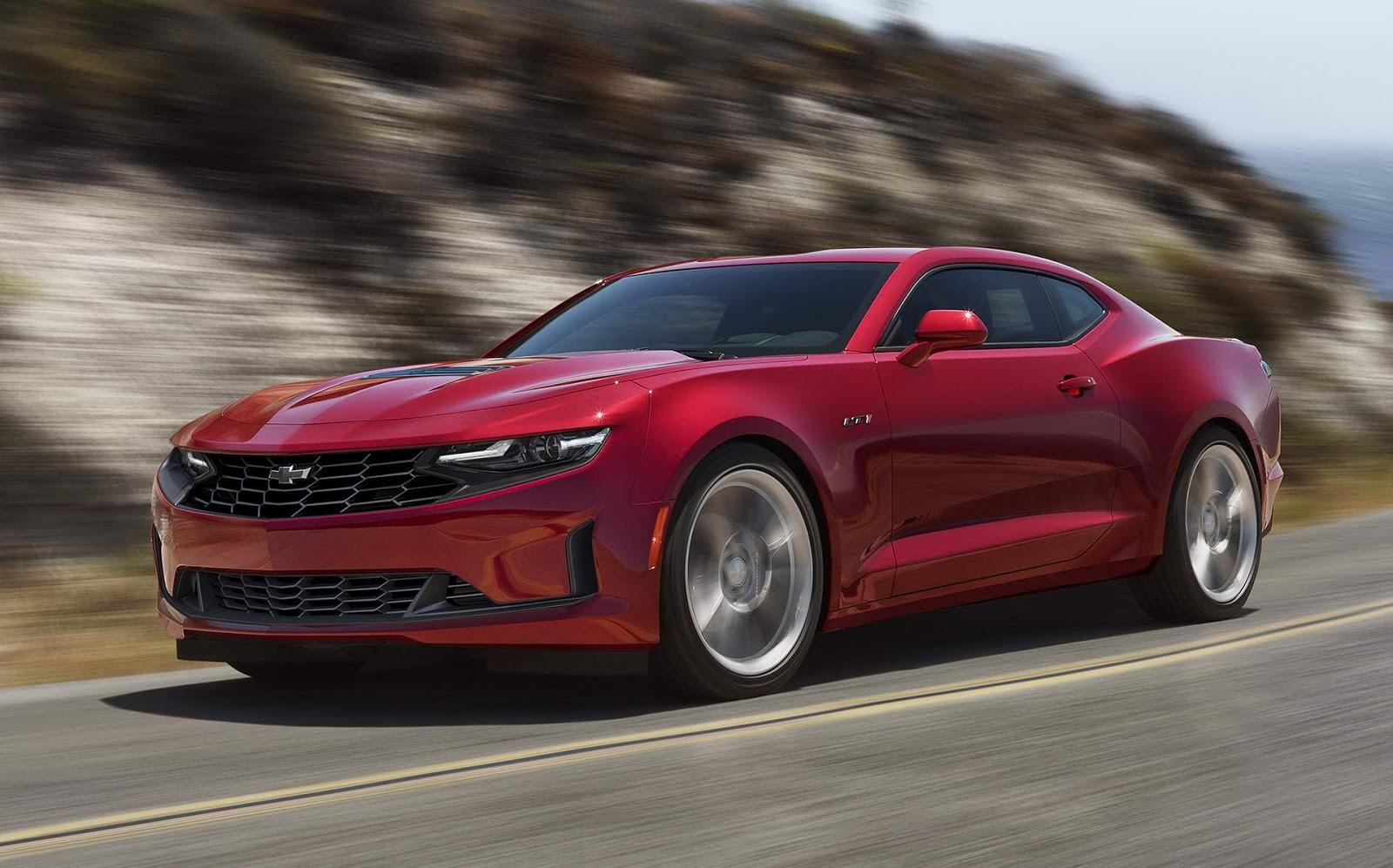 Chevrolet Camaro 2020 ganha facelift nos Estados Unidos ...