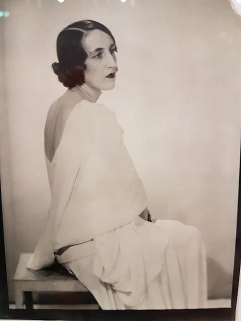 Anna de Noailles par Man Ray