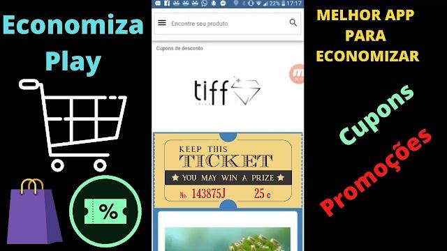 Aplicativo (app) para comprar barato (economizar) - Cupons de desconto e promoção (melhores lojas)!