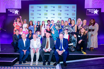 National Cat Awards 2018 judges and winners