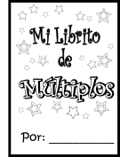 Bilingual Teacher Clubhouse: Multiples Printable Math Book
