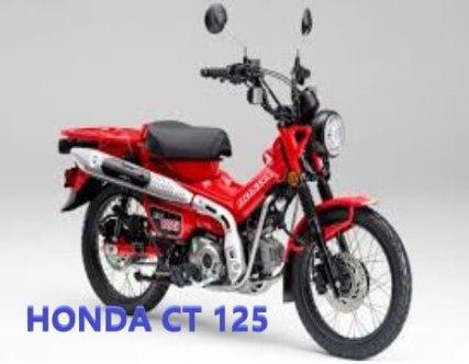 Review dan Spesifikasi Motor Honda CT 125
