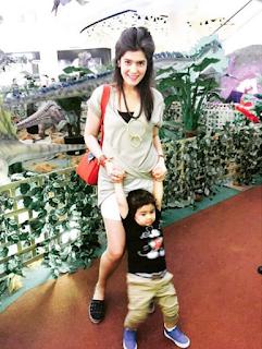 carissa putri dan anaknya