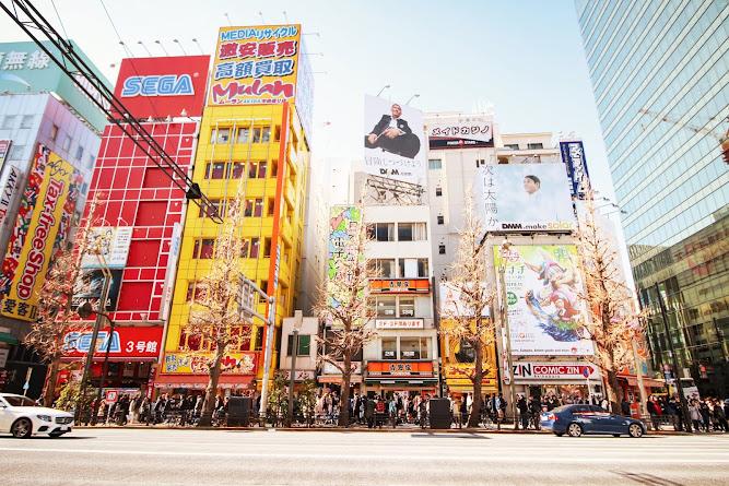 Akihabara Tokyo Japan Travel Blog Sega Building