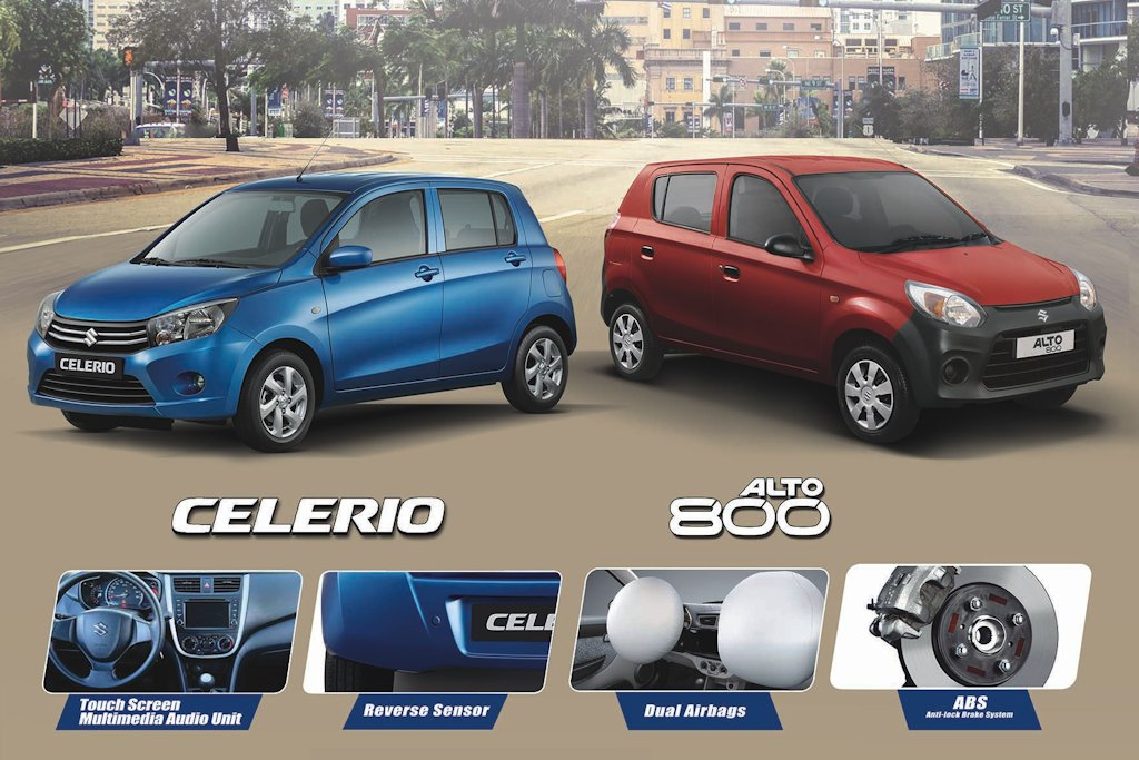 Suzuki Philippines Makes Celerio Alto 800 Safer For 2018
