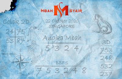 Kode syair Singapore Kamis 22 Oktober 2020 200