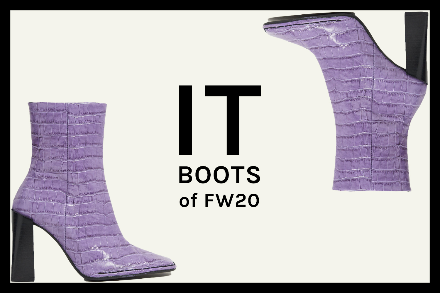 It boots of Fall 2020