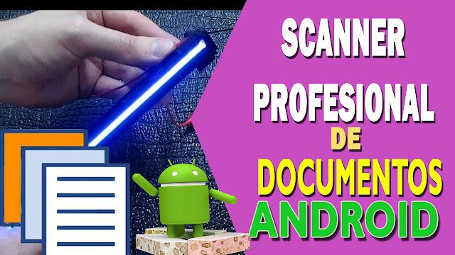 Cam scanner: escanea y convierte en PDF documentos en Android
