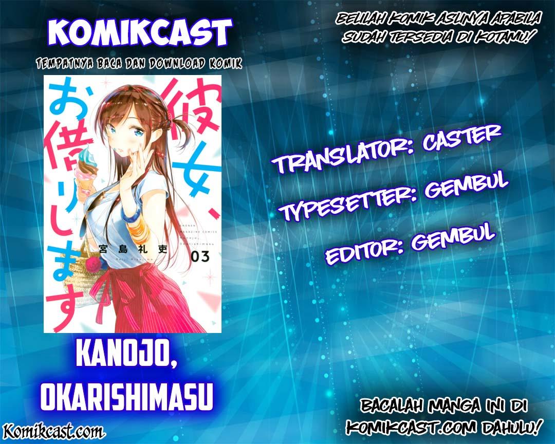 Kanojo, Okarishimasu Chapter 20 Bahasa Indonesia