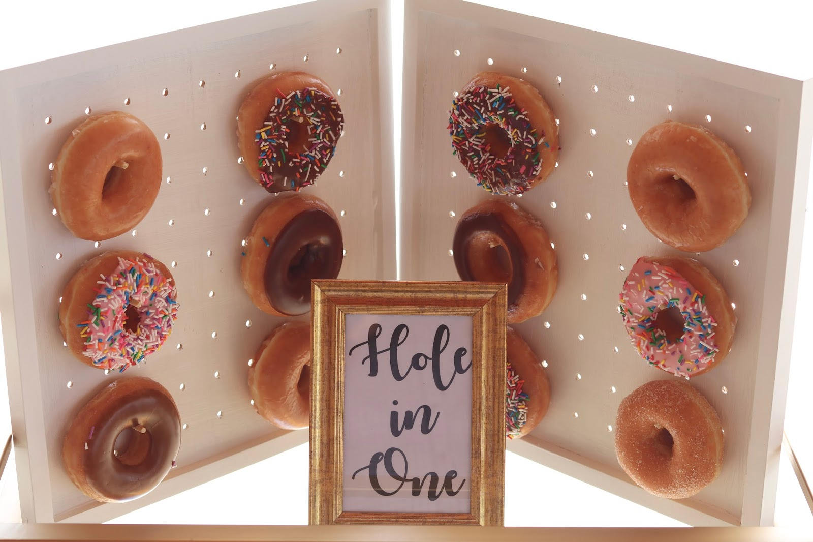 Donut bar party, donut party decor