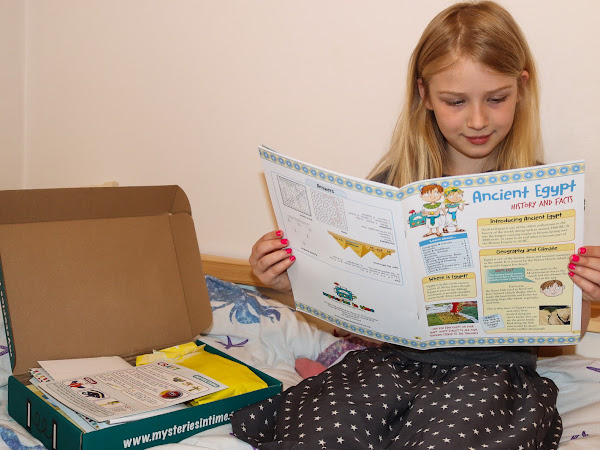 Review & Giveaway: Mysteries In Time History Subscription Box For Children