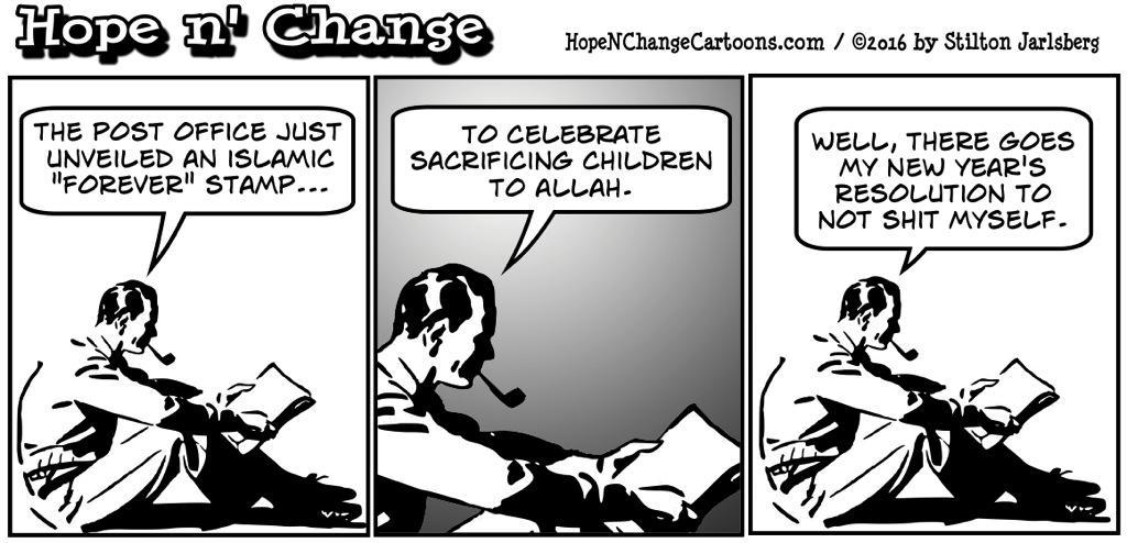 Islamic stamp – The Burning Platform