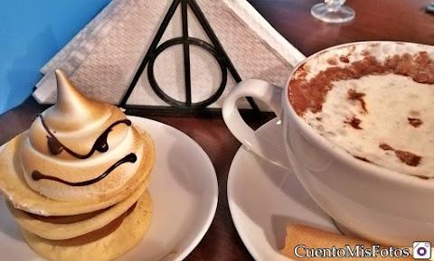 Recomiendo en Santiago - Plataforma 516, Café de Harry Potter