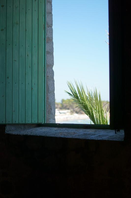 Blog + Fotografie by it's me! - Ses Salines, Ibiza - Palmwedel aus einem Haus fotografiert