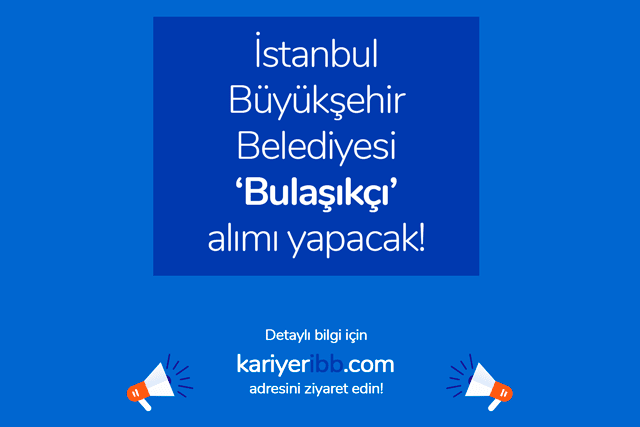 İstanbul Büyükşehir Belediyesi bulaşıkçı alımı yapacak. Bulaşıkçı iş ilanı başvuru kriterleri neler? Detaylar kariyeribb.com'da!