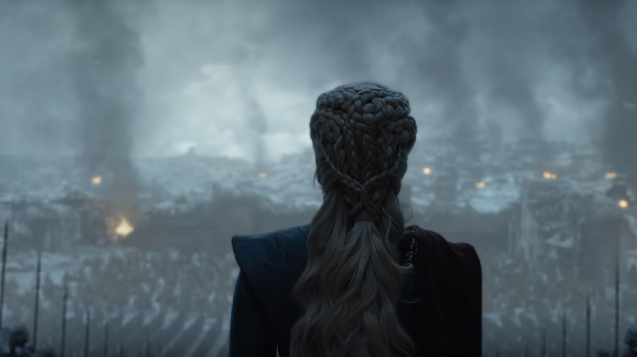 Daenerys en la última temporada de Game of Thrones