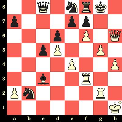 Les Blancs jouent et matent en 4 coups - Viswanathan Anand vs Alexander Chernine, Eupen, 1999