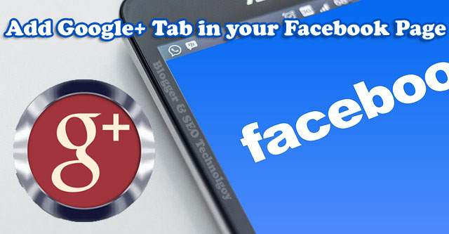how to add google plus tab to facebook fan pages