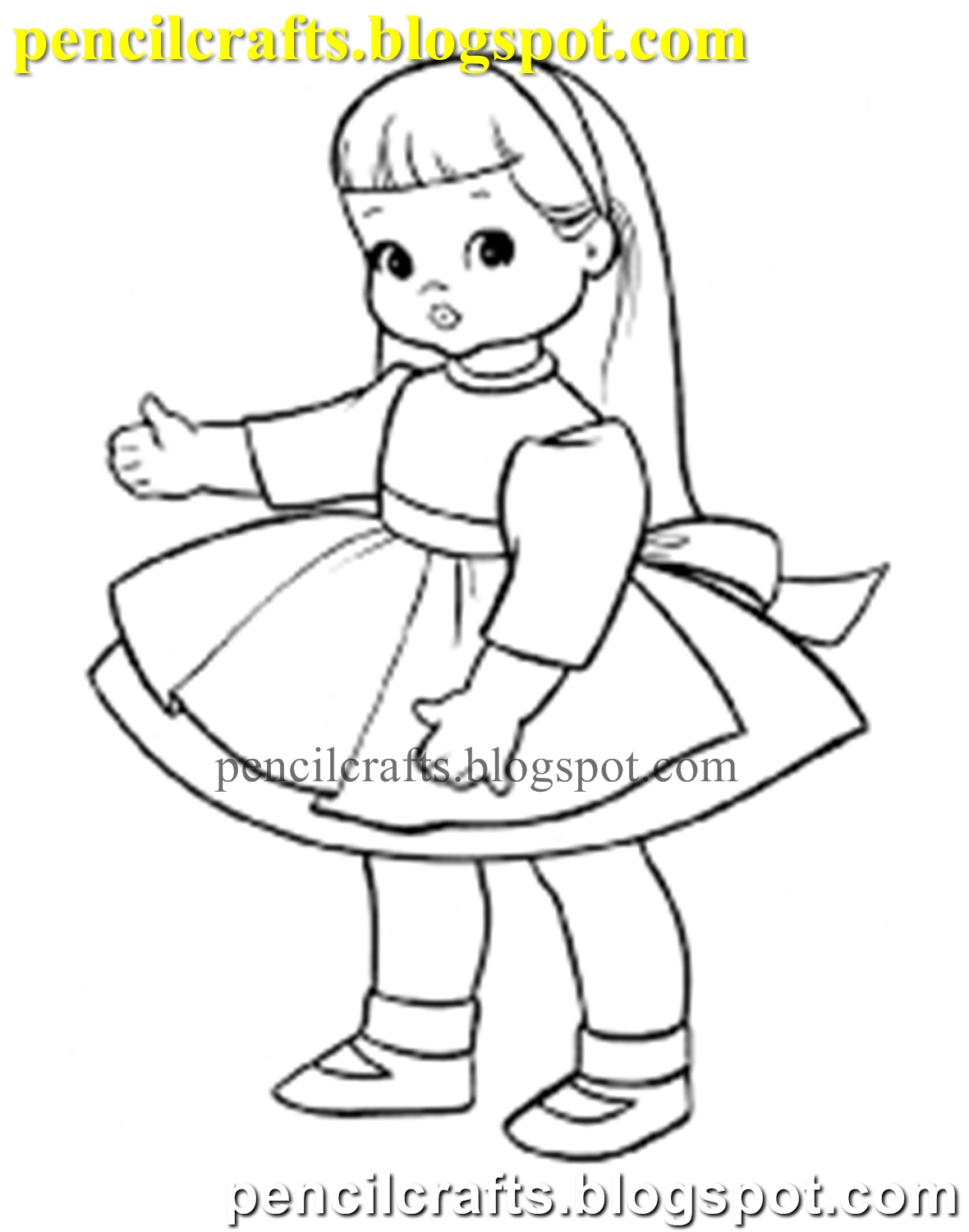 Doll Drawing Easy : drawing, PENCIL, DRAWINGS, DRAW|PENCIL, DRAWING, DOLLS