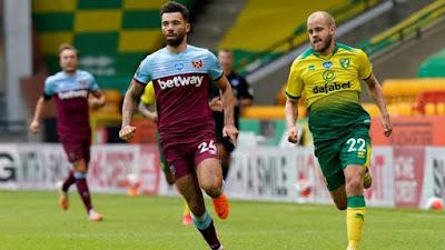 Video Norwich City 0-4 West Ham United: Vòng 35, Ngoại Hạng Anh