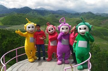 Wisata Alam Bukit Teletubies Blitar