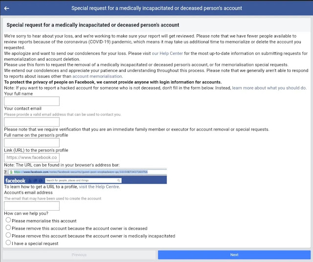 How to Delete Someone Else's Facebook Account