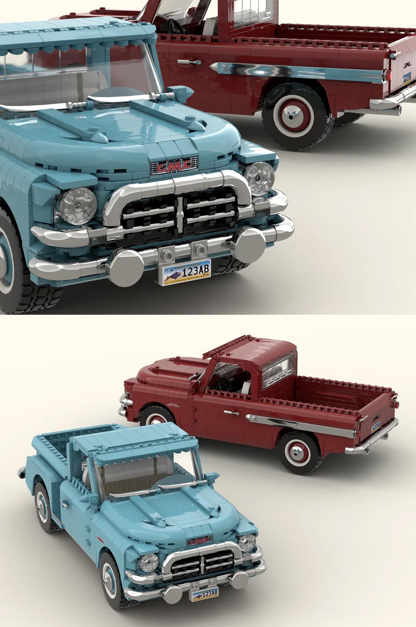 レゴアイデアで『GMCブルーチップ100 (1957)』が製品化レビュー進出!2020年第3回1万サポート獲得デザイン紹介
