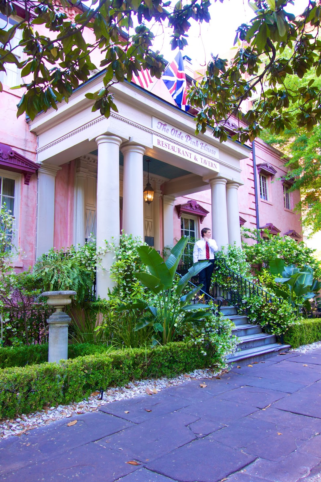 The Olde Pink House in Savannah, GA